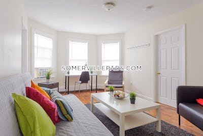 Somerville Apartment for rent 3 Bedrooms 1 Bath  Union Square - $3,000